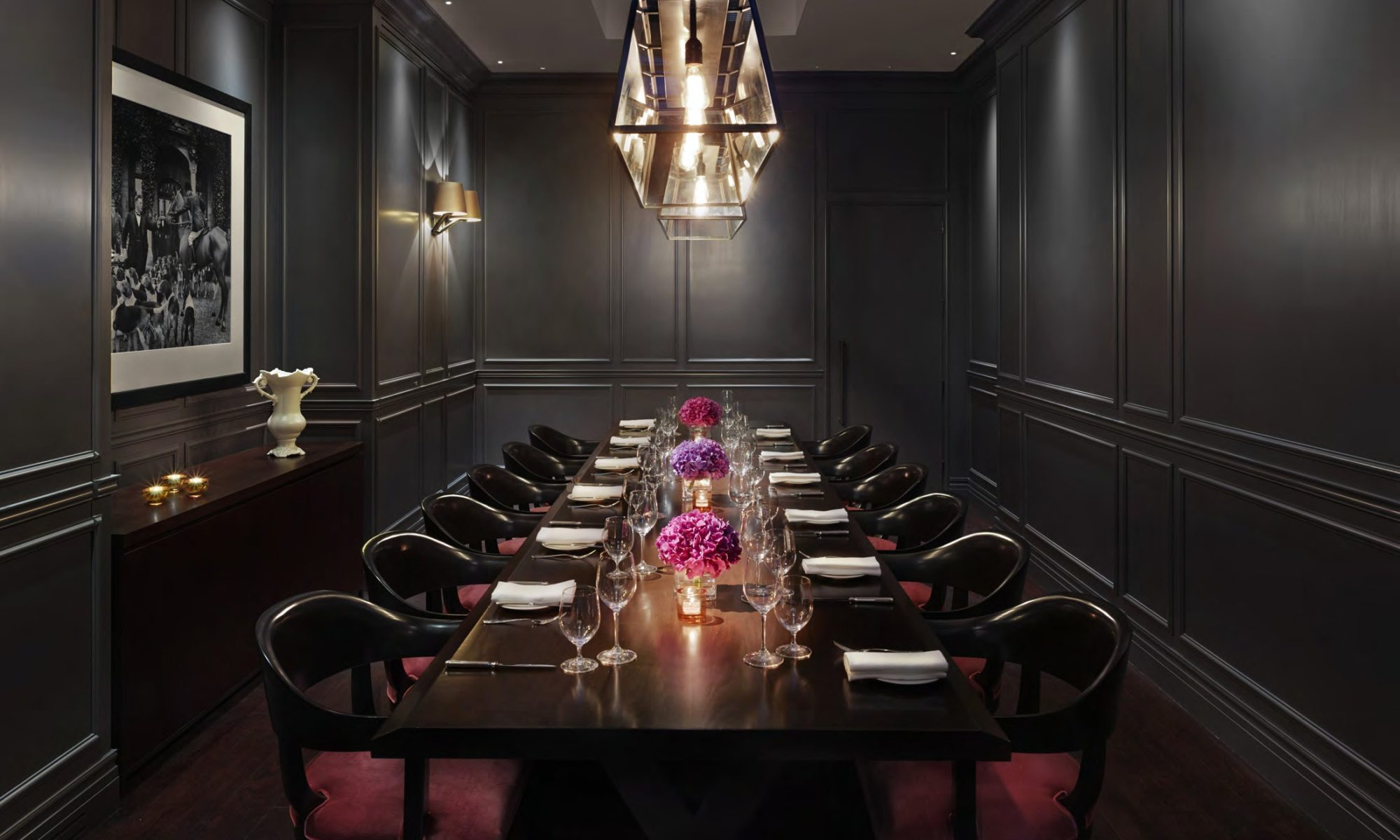 Lifestyle management, private dining